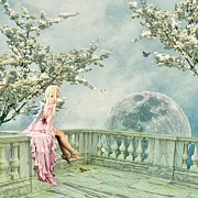 Fantasy Digital Art - Fairytopia in Spring by Sharon Lisa Clarke