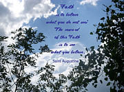 Inspirational Prayers Posters - Faith Poster by Aimee L Maher