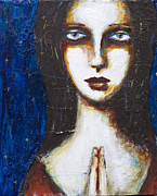 Portrait Of Woman Originals - Faith by Jill Van Iperen