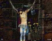 The Church Mixed Media - Faith by Lothar Boris Piltz