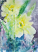 Daffodils Originals - Faithful Daffodils by Diane Wallace