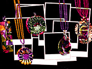 Broach Framed Prints - Fake Jewellery  Framed Print by Steve Taylor