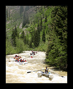 Action Photo Prints - Fall Action on the Animas Print by Jack Pumphrey