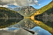North Cascades Framed Prints - Fall At Diablo Framed Print by Adam Jewell