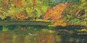 Linda Feinberg - Fall at Dorrs Pond
