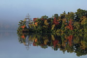 Fall At Heart Pond Print by Kenny Glotfelty