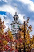 Nick Zelinsky - Fall at Independence Hall
