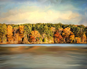 Autumn Landscape Art - Fall at Natchez Trace by Jai Johnson