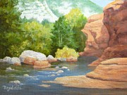Carol Reynolds - Fall At Slide Rock...