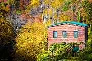 Historic Mill Framed Prints - Fall At The Old Mill In Roswell Framed Print by Mark Tisdale