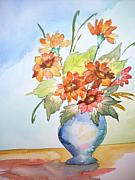 Warren Thompson Art Prints - Fall Bouquet Print by Warren Thompson