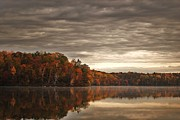 Northwoods Photos - Fall Calm by Paul Geilfuss