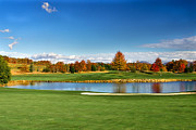 Claire Turner - Fall Color Lake to Golf...