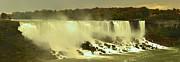 Adam Jewell - Fall Colors At American Falls Panorama