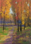 Fall Pastels - Fall Colors by Paula Ann Ford