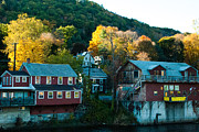 Shelburne Falls Prints - Fall Colors Shelburne Falls Massachusetts  Print by Robert Ford