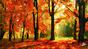 Vincent Dinovici Art - Fall Colors TNM by Vincent DiNovici