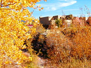 Diana Dearen - Fall Downtown Santa Fe
