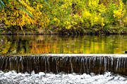 Fort Collins Prints - Fall Falls Print by Keith Ducker