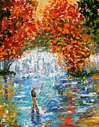 Karen Tarlton - Fall Fishing