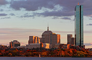 Fall Photographs Prints - Fall Glory in Boston Print by Juergen Roth