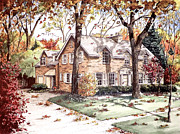 Mary Palmer - Fall Home Portriat