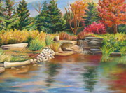 Fall Pastels - Fall in Bloom by Kathryn Kerekes