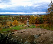 Battlefield Photos - Fall in Gettysburg by Amazing Photographs AKA Christian Wilson