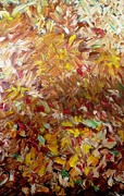 Ferid Sefer Art - Fall in my backyard by Ferid Sefer