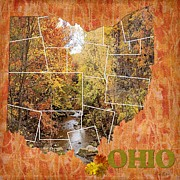 Fall Photos Originals - Fall in Ohio by Marilyn Giannuzzi