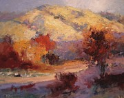 R W Goetting - Fall in the foothills II