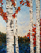 JC Nemish - Fall Lake Birches