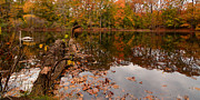 Rhode Island Photos - Fall Memories by Lourry Legarde