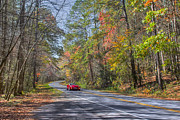 Ules Barnwell - fall mountain road HDR