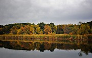 Fall Reflections Print by Todd and candice Dailey