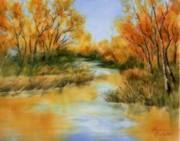 Fall River Print by Summer Celeste