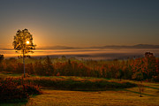 Jim Boardman - Fall Sunrise in Vermont