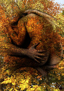 Gay Digital Art - Fall Tender Love by Kim Sorensen