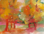 Michelle Abrams - Fall Trees