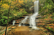 Photos Of Autumn Prints - Fall Water Print by Doug McPherson