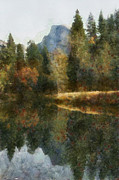 Reflections In Water Prints - Fall waters Print by Scott B Bennett