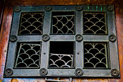Metalwork Framed Prints - Fallen Panes Framed Print by Christi Kraft