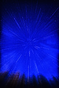 Perseid Metal Prints - Falling Stars Metal Print by Thomas R Fletcher