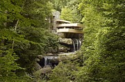 Highsmith Prints - Falling Water Print by Carol Highsmith