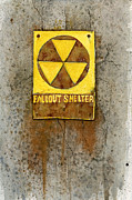 Post Apocalyptic Paintings - Fallout Shelter #1 by Jennifer  Creech