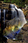 Whitewater Prints - Falls and Rainbow Print by Paul W Faust -  Impressions of Light