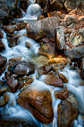 Creek Art - Falls and Rocks by Cat Connor