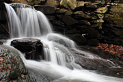 Fall River Scenes Prints - Falls at Melville Print by Andrew Pacheco