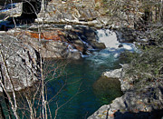 Tennessee Photos Prints - Falls At Pigeon Forge Print by Skip Willits