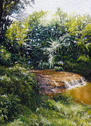 Oils Paintings - Falls by Gregg Hinlicky